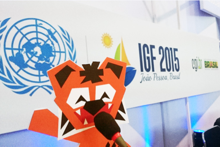 Ajitora interview at 10th IGF Brazil