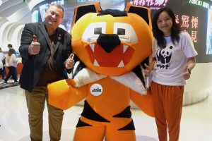 Ajitora with WWF at KIFF.Asia on GTF